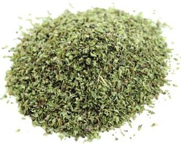 Our organic oregano leaf is a common ingredient in Italian cookery including minestrone soup and pasta dishes.  Another very reasonably priced fresh organic spice from Organic Teas Canada.