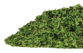 Organic Teas Canada packages fresh and organic spices, herbs and teas in Canada at excellent prices including this vibrant green parsley leaf.