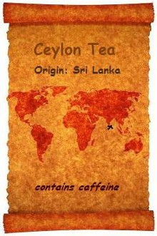 Ceylon now known as Sri Lanka is the origin of this organic and fair trade certified flavourful, smooth black tea a favourite at Organic Teas Canada.