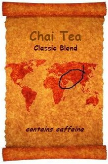 Chai Tea is a wonderfully fragrant and tasty blend of exotic spices and prized Darjeeling Tea.  Another wonderful organic selection from Organic Teas Canada.